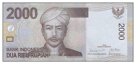 Nota do Banco da Indonesia