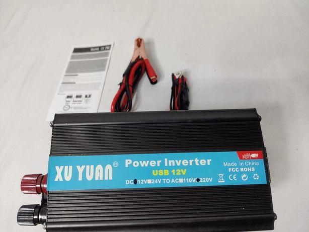 [NOVO] Inversor / Conversor  Potência 4000W [12V - 220V] Transformador