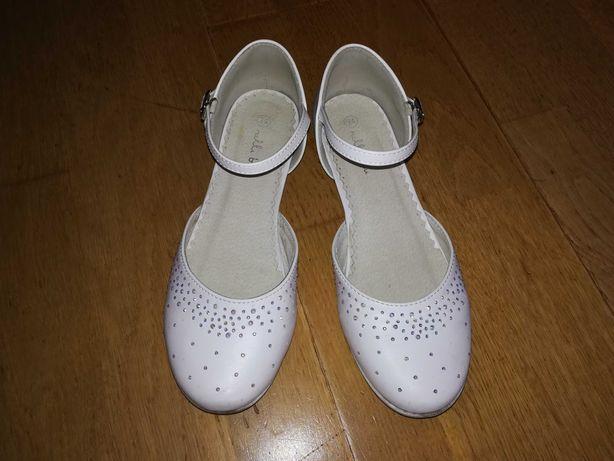 Buty dla dziewczynki - do komunii  roz.34