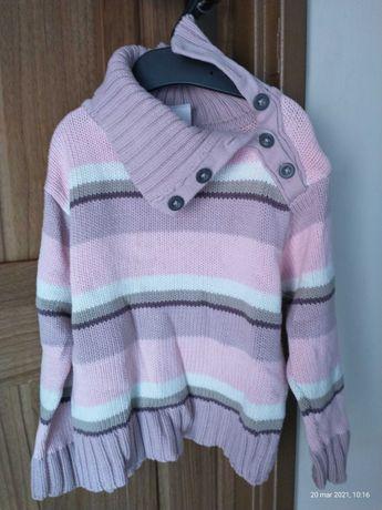 Sweter dziewczęcy.