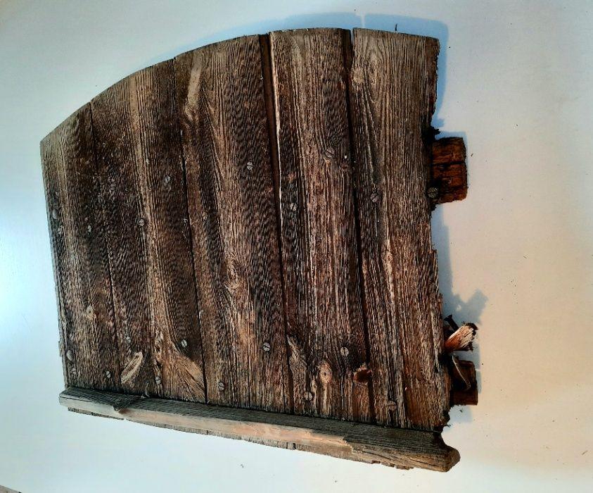 Okno, okno drewniane, stare okno drewniane 75x65cm Warlubie - image 1