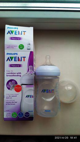 Бутылочка для кормления Avent Philips Natural