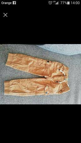 Spodnie ocieplane 92r bojówki