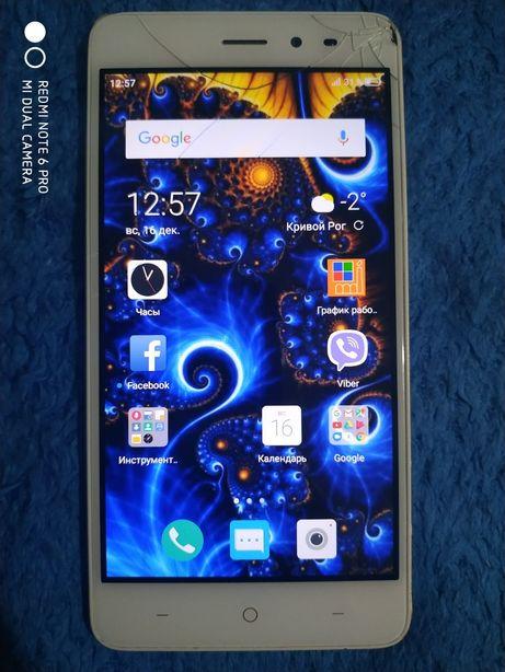 Смартфон *Сканер с отпечатка пальца tp-link neffos x1 lite + стекло