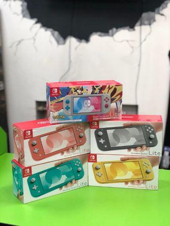 НОВЫЕ ГАРАНТИЯ 18 МЕС! Приставки, консоли Nintendo Switch LITE
