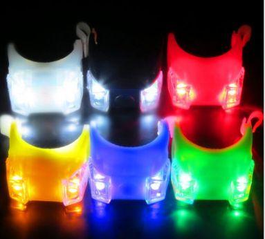 Вело габарит/мигалка жабка/лягушка 2 LED диода на 2032 маячек/стоп