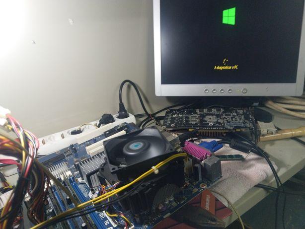 Bord + Processador + 4GB RAM DDR2.
