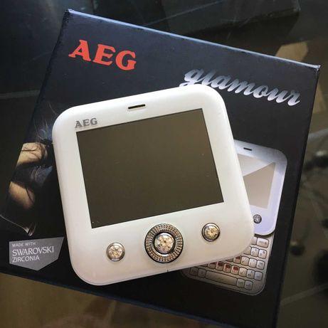 telemóvel AEG X580 Glamour Swarovski e Espelho Dual Sim (duplo cartão)