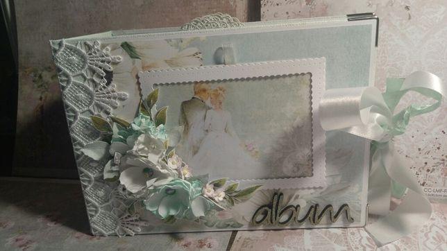 Album ślubny wykonany ręcznie