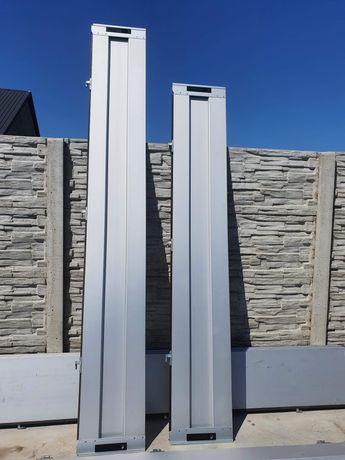 Burty aluminiowe do przyczepki 6x2.5 komplet