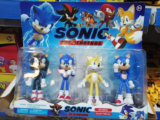 Sonic - Packs Figuras Conjuntos Novo Entrega em todo o País