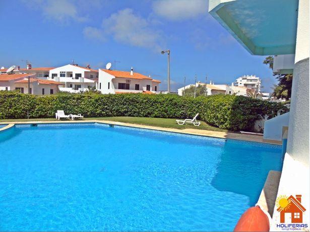 T1+1 Amoreira Mar, Alvor vista mar, e piscina (Julho e Set)