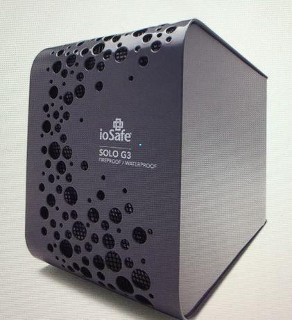 ioSafe Solo G3 4 ТБ Огнестойкий и водонепроницаемый внешний жестк диск