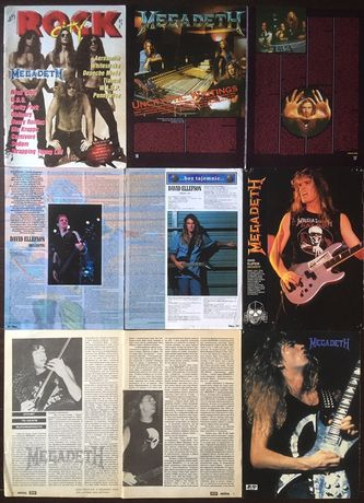 MEGADETH - фотографии и статьи из журналов