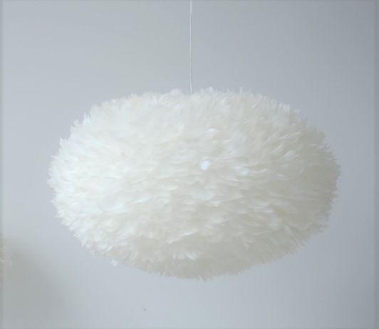 Lampa z piór /piórek ok 60cm