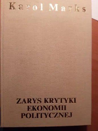 Marks Zarys krytyki ekonomii politycznej