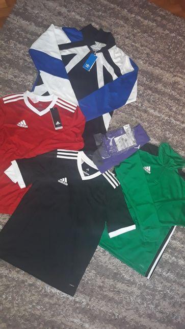 OKAZJA Koszulka, bluza sportowa adidas climalite 164 / S