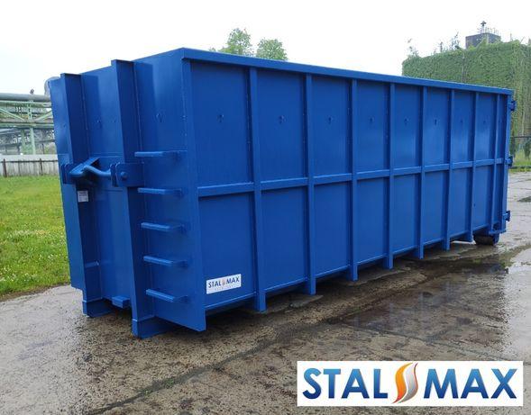 Kontener hakowy 33, 36 STAL-MAX ,transportowy, złom, odpady, hakowiec