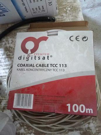 Kabel antenowy koncentryczny
