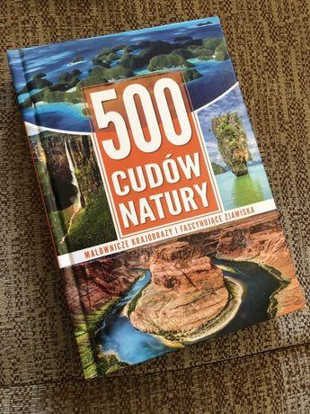 500 cudów natury - książka przyrodnicza