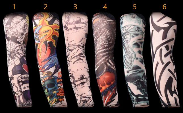 Tattoo rękawy na rękę ramię tatuaż tatuażu z tatuażem rękawki rękaw