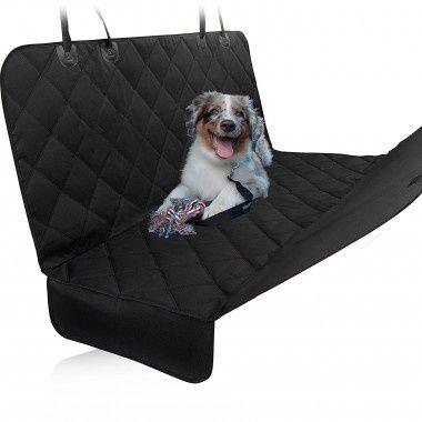 Чехол для перевозки собак, водонепроницаемый, защита сидений, Black