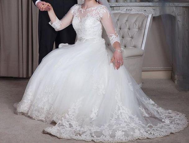 Suknia ślubna LaPerle rozmiar L (42)