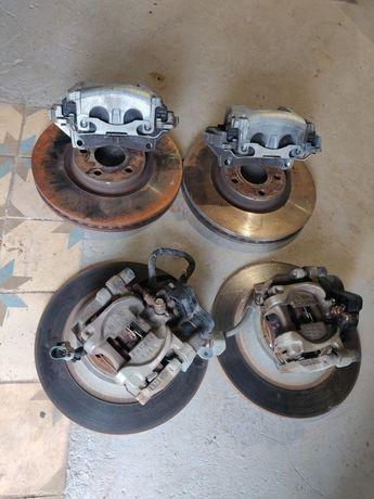 Тормозные диски суппорта цапфа колодки Ford Fusion мк5 Edge Разборка