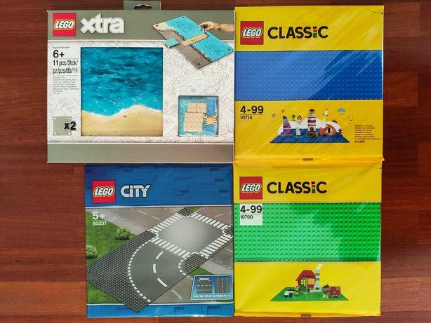 Lego Placas baseplates Classic 10700 Cruzamento Curva Xtra Playmat