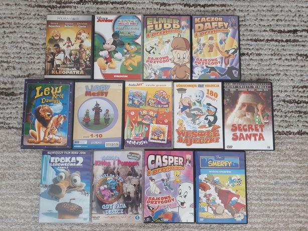 Bajki dvd cd epoka lodowcowa disney asterix
