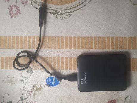 Продам внешний жёсткий Диск WD на 500GB, USB-3.0