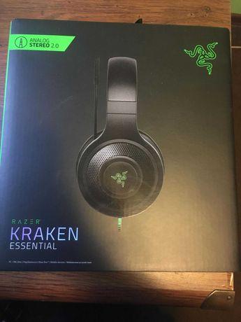 Słuchawki dla graczy Razer KRAKEN Essential Black