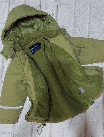 Ciepła zimowa kurtka 104
