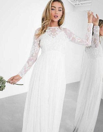 Свадебное платье asos 48 размер