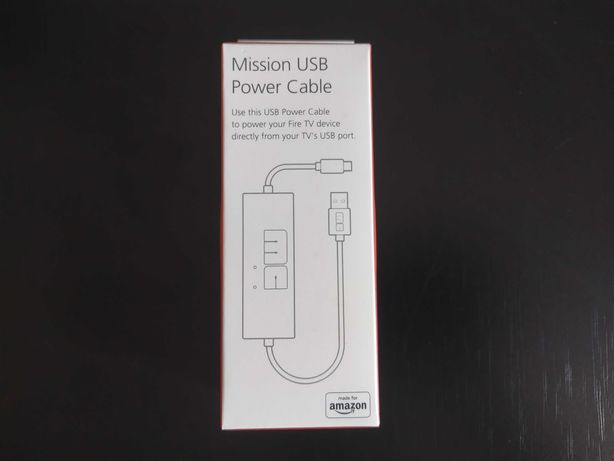 Cabo USB de corrente para Amazon Fire TV Stick