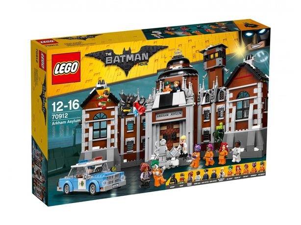 Lego 70912 AZYL ARKHAM Batman Movie