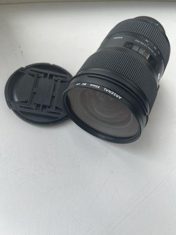 Sigma for Nikon объектив  24-35mm 1:2 DG 82. Чистая Япония