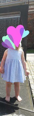 Letnia sukienka dla dziewczynki r 74 h&m