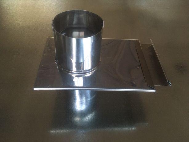 Шибер дымохода ф 110 мм оцинк, Вентиляция