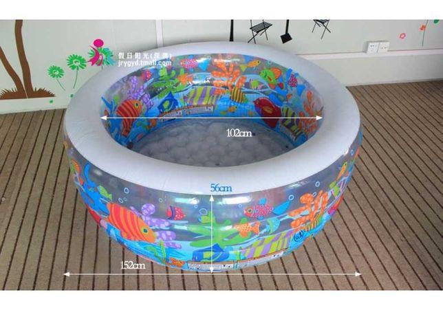 Детский надувной бассейн Intex Аквариум 58480 на 318