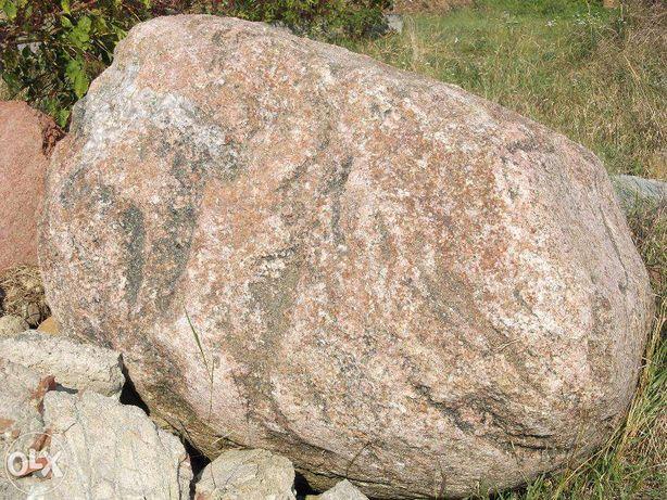 sprzedam duży kamień polny, głaz na pomnik lub ozdoba na ogród.