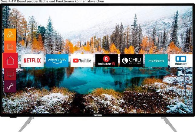 HIT LED 43 Telefunken 4K UHD Smart TV Wi Fi 1800Hz DVB-T Nowy OKAZJA!