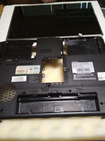 Vendo Toshiba Satellite A300 276 e-escolas a peças (GPU Avariada)