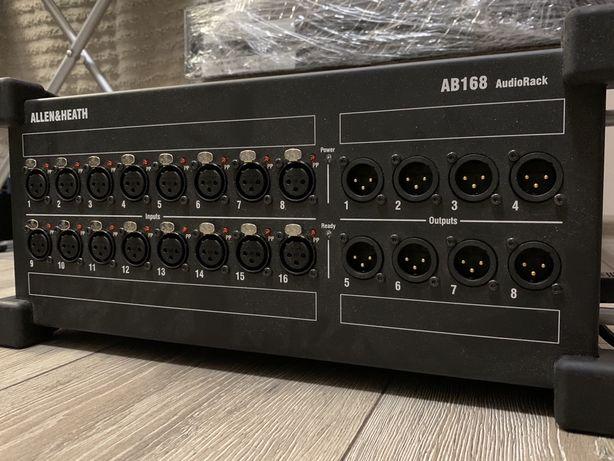 Стейдж бокс stage box Allen Heath AB168 audiorack