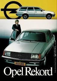 Opel Record  1981