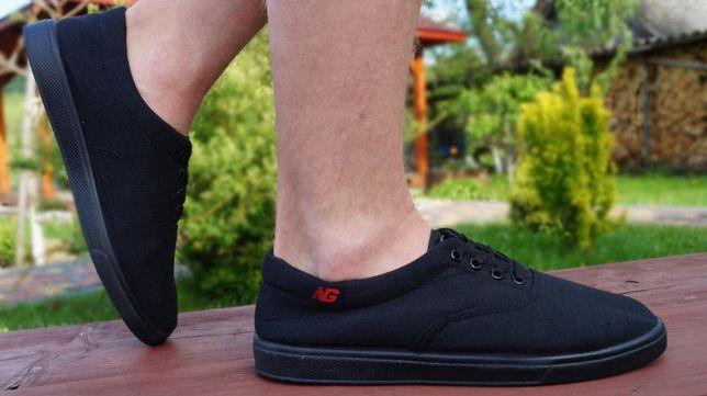 Кеды кроссовки легкие летние мужские мокасины черные