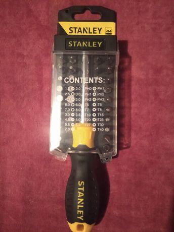 Отвертка Stanley Multibit со сменными вставками 34 биты STHT0-70885