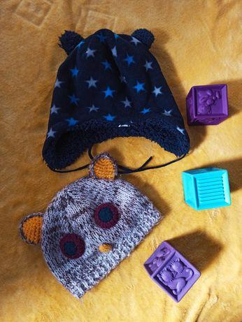 Шапка Topolino Topomini 46-48  зимняя шапка демисезонная 6-18 месяцев