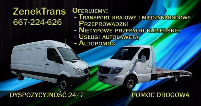 Usługi Transportowe, Przeprowadzki, Pomoc drogowa, Autolaweta