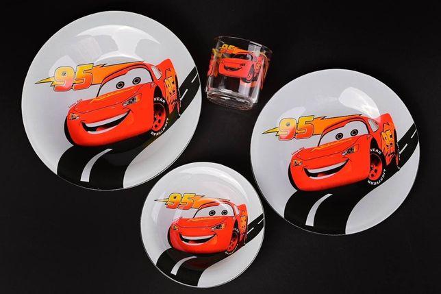 Набір дитячого посуду Тачки